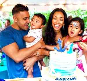 Jay Sean With His Family