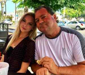 Jordyn Jones With Her Dad