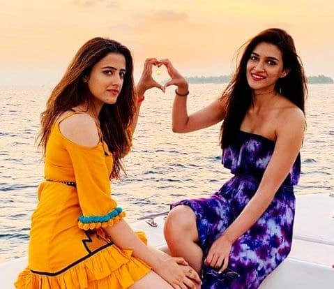 Kriti Sanon & Nupur Sanon Photo