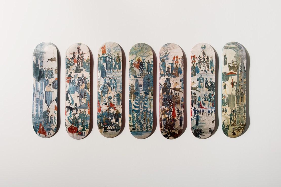 Marcel Dzama x Girl Skateboards