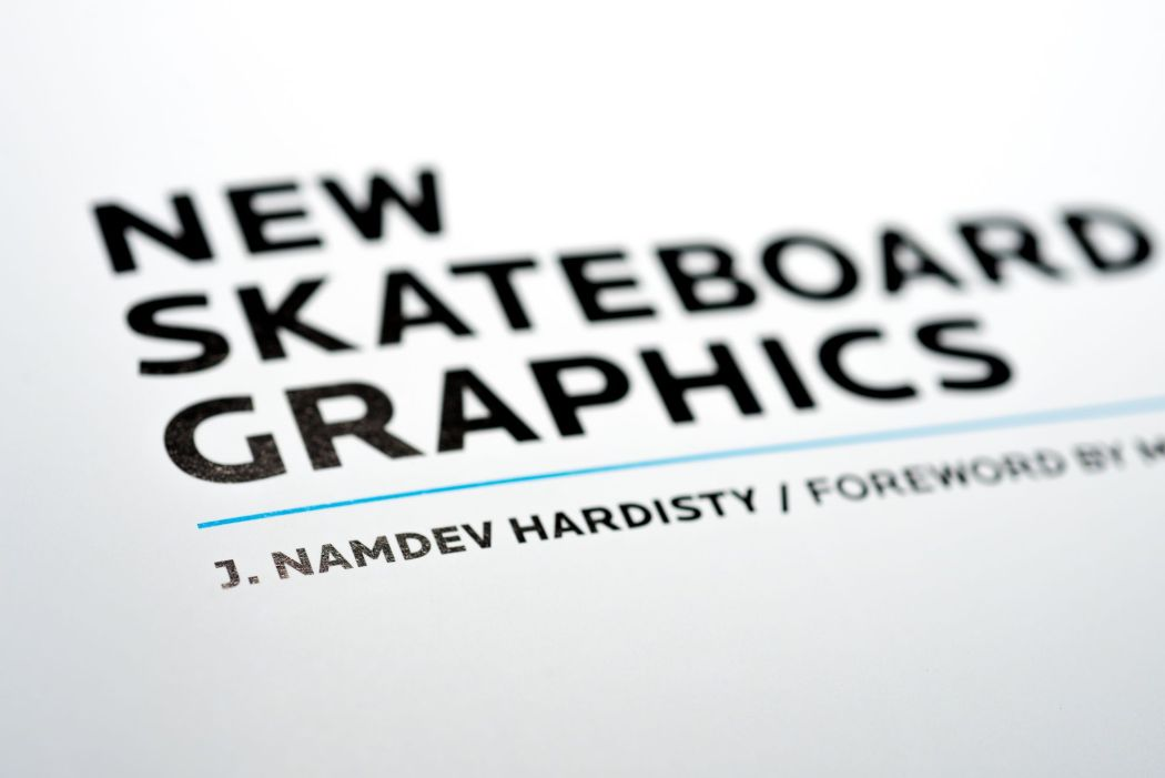 New Skateboards Graphics book