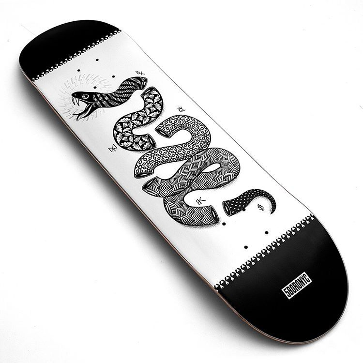 5BoroNYC x Danny Funds skateboards