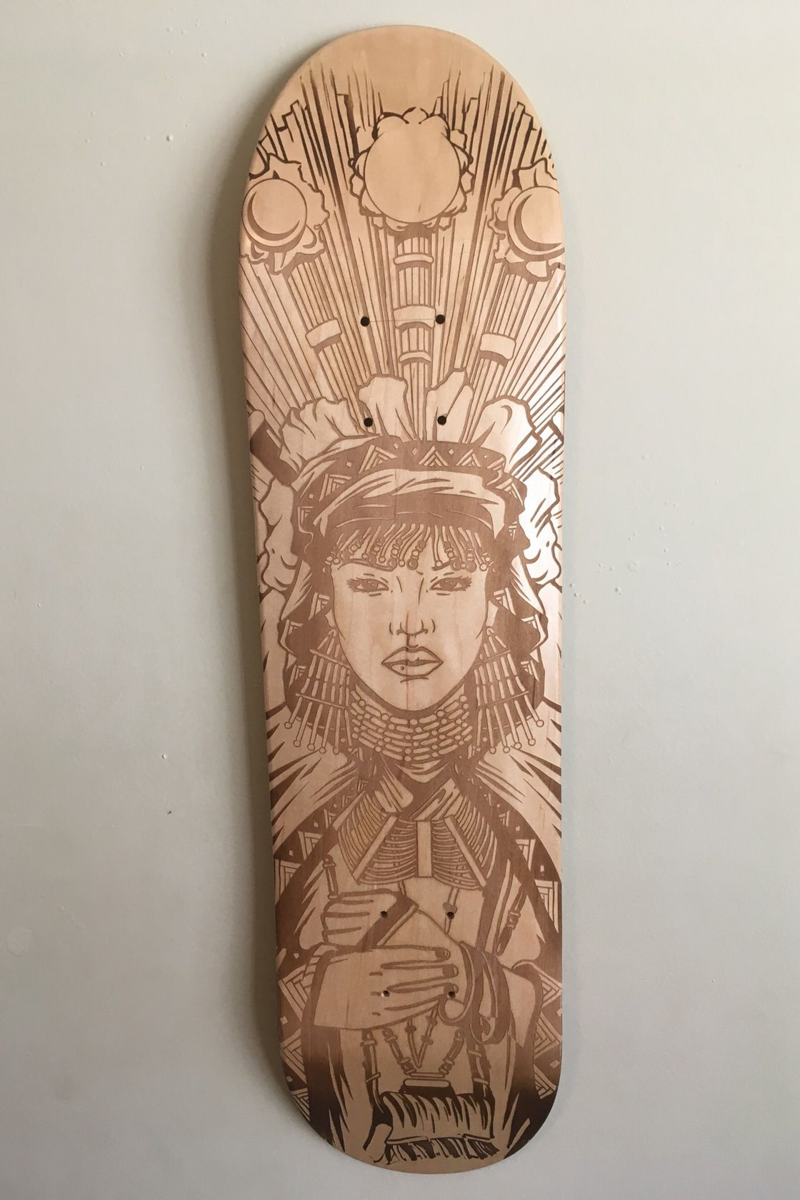 OG Queens skateboards