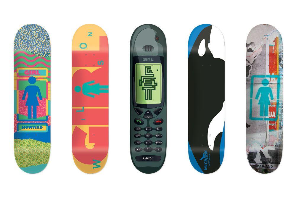 Nick Zegel x Girl Skateboards