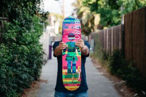 Nick Zegel, Art Director of Girl Skateboards