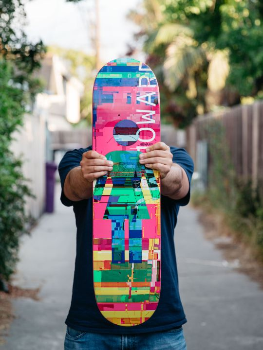 Nick Zegel portrait for Girl Skateboards