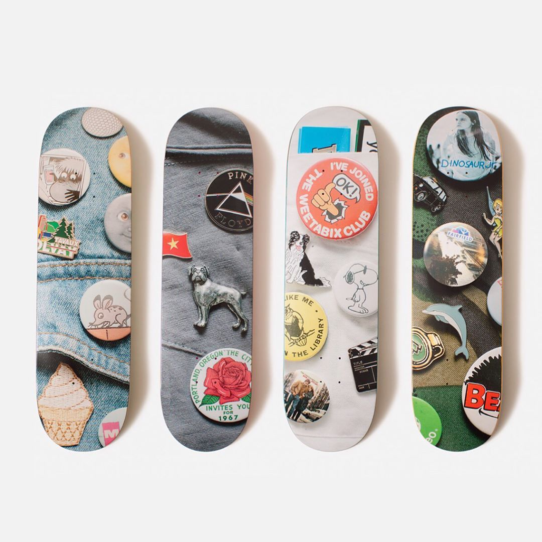 Enamel series by Isle Skateboards