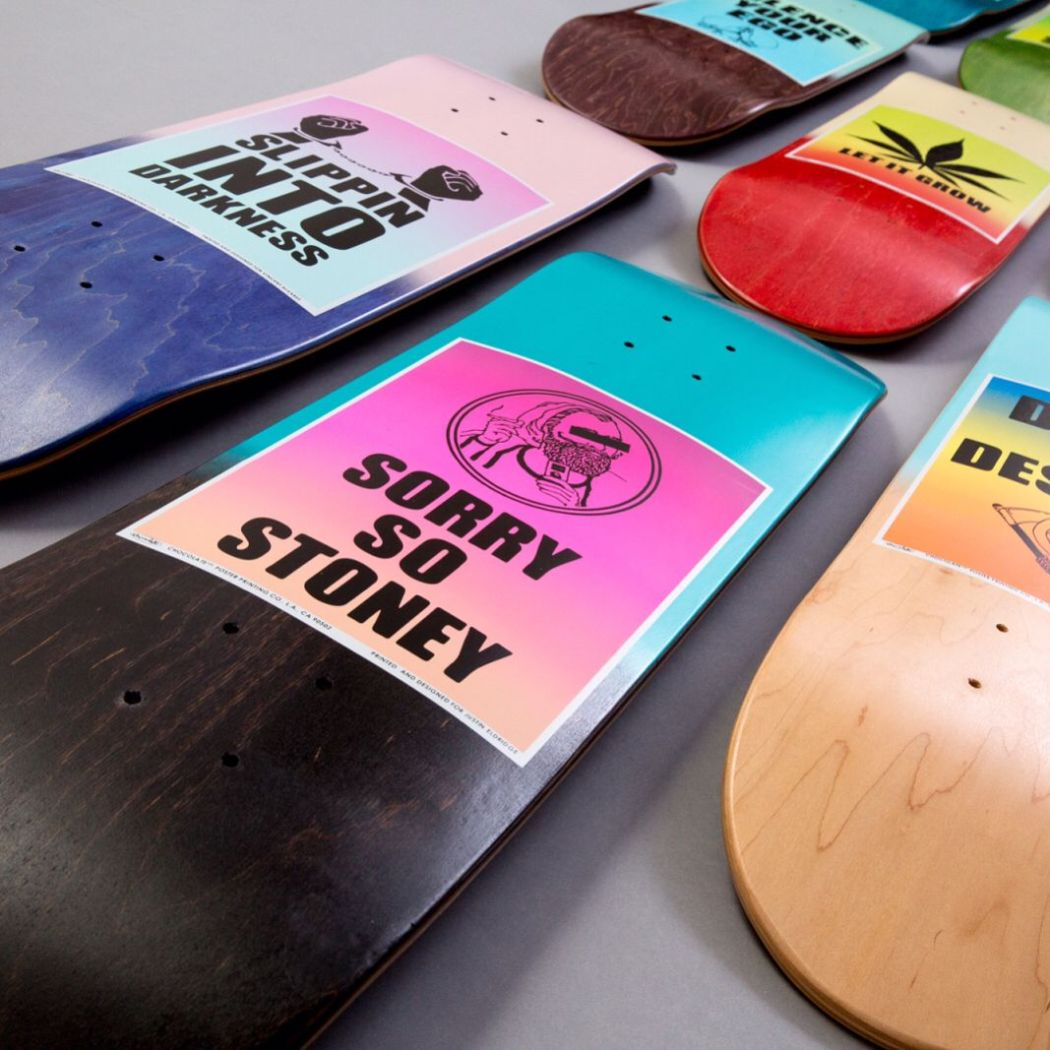 Signs Of The Times Series by Chocolate Skateboards