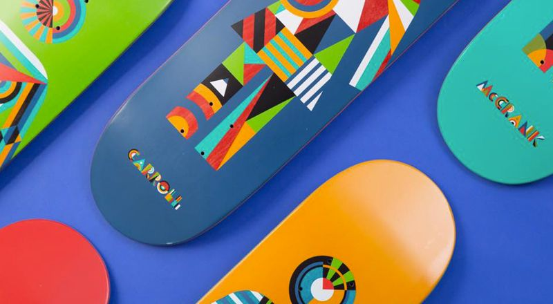 Constructivist OG series by Girl Skateboards