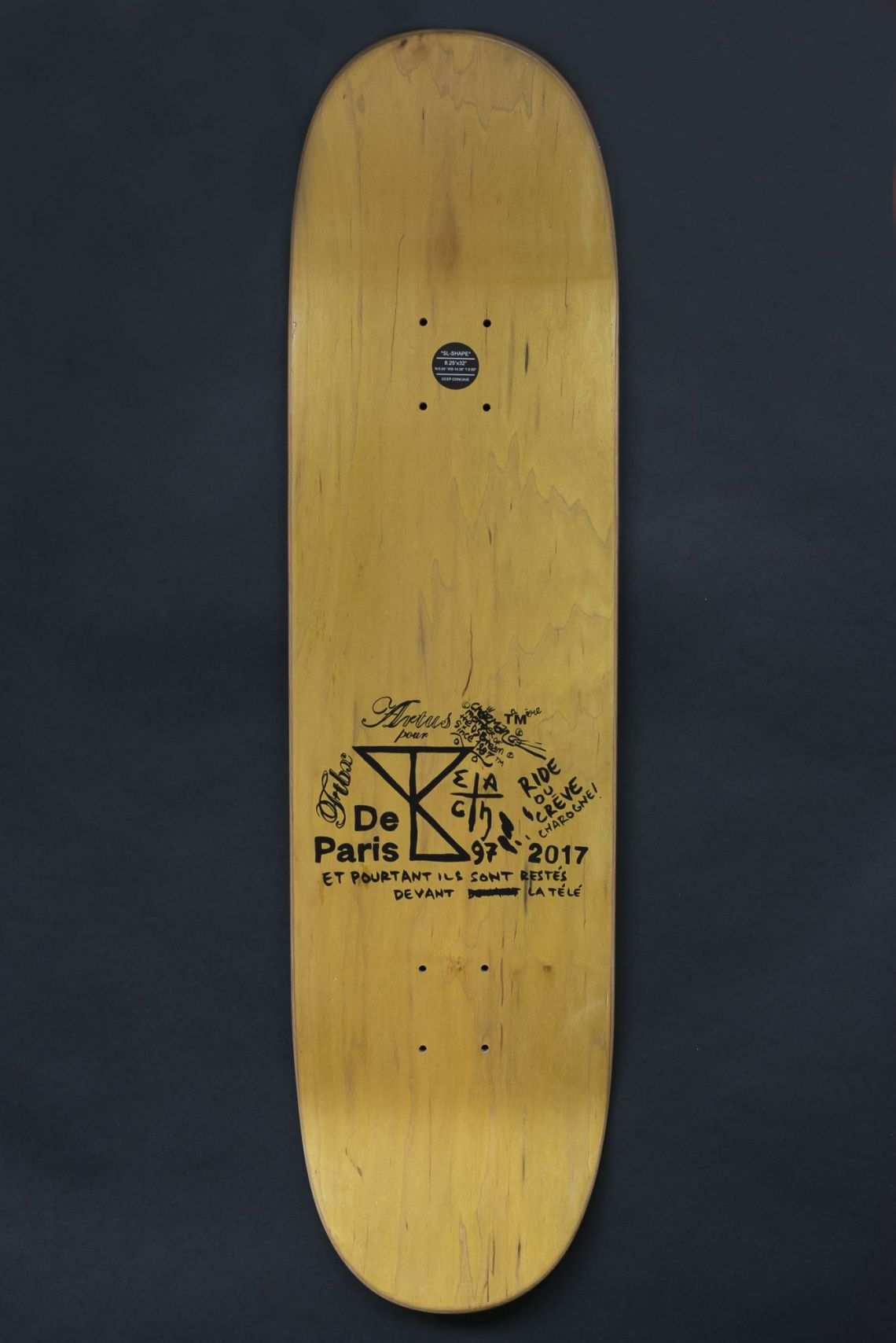 DeParis Yearbook x Artus de Lavilléon skateboards | The Daily Board