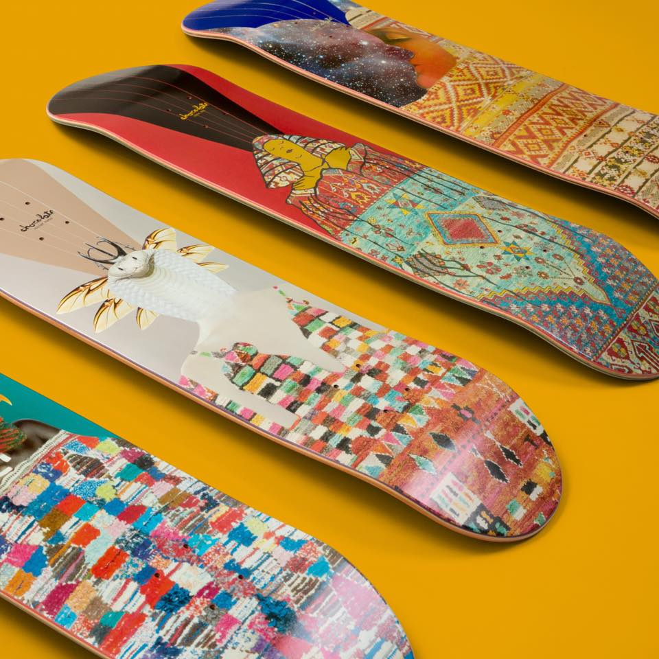The Goddess Series by Chocolate Skateboards | The Daily Board