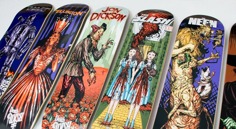 Nightmare In Emerald City Series by Deathwish | The Daily Board