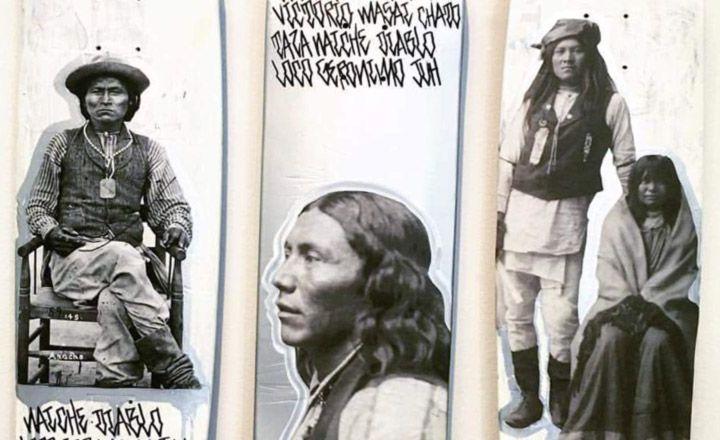 Original Triptych By Apache Skateboards 1