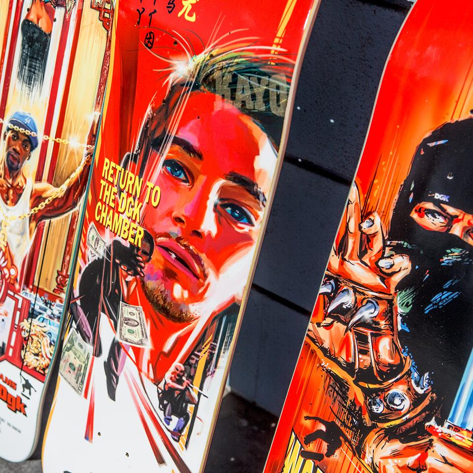 Kung Fu Series Dgk Skateboards 3