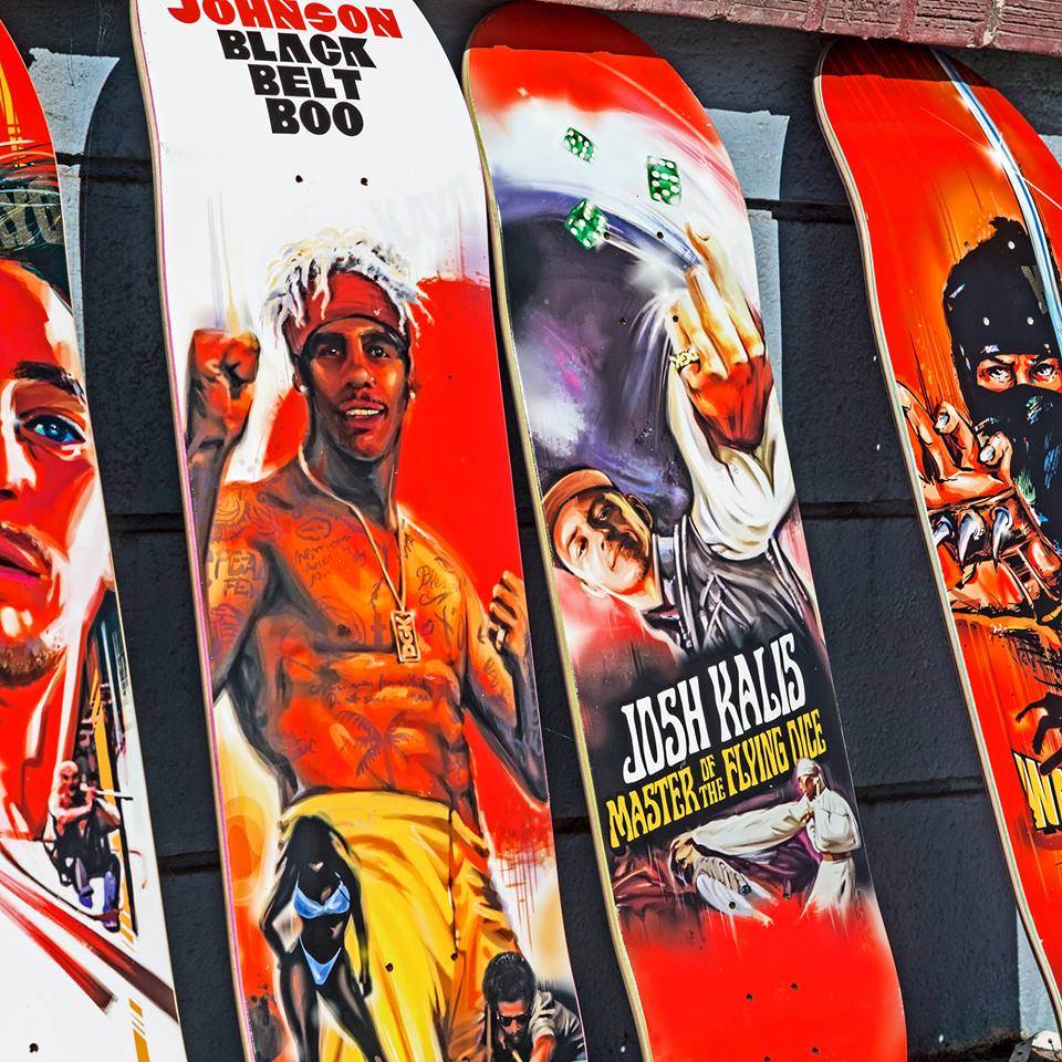 Kung Fu Series Dgk Skateboards 6