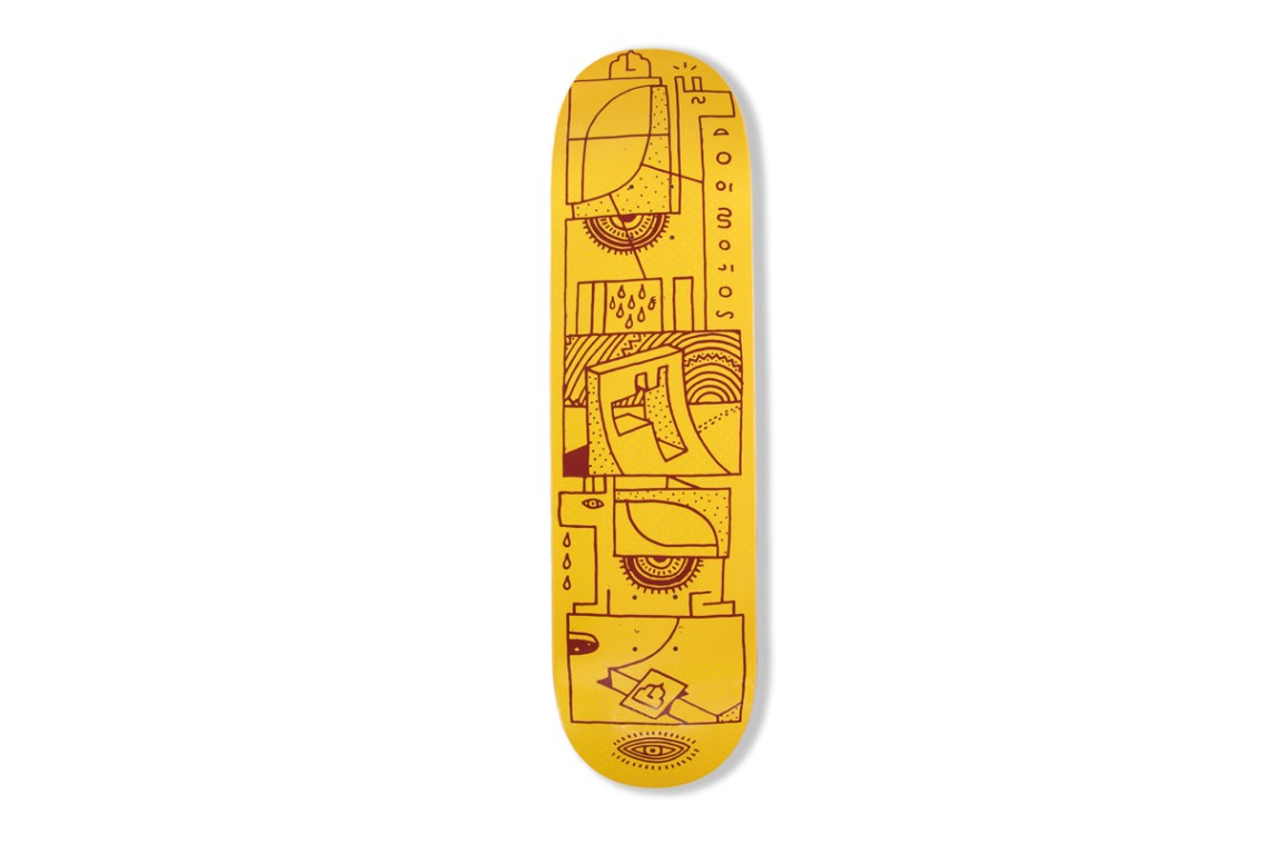 Woodwide Love Series By Elna Solowood Skateboards 7