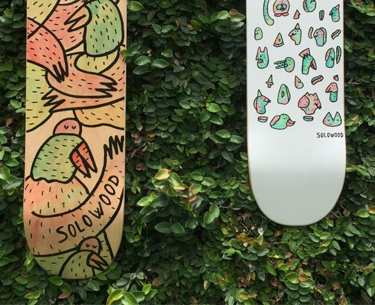 Lucas Beaufort Solowood Skateboards 4