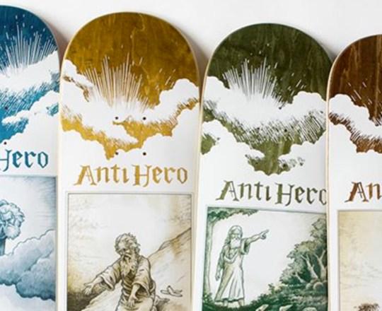 Book Of Anti Hero Series Anti Hero Skateboards