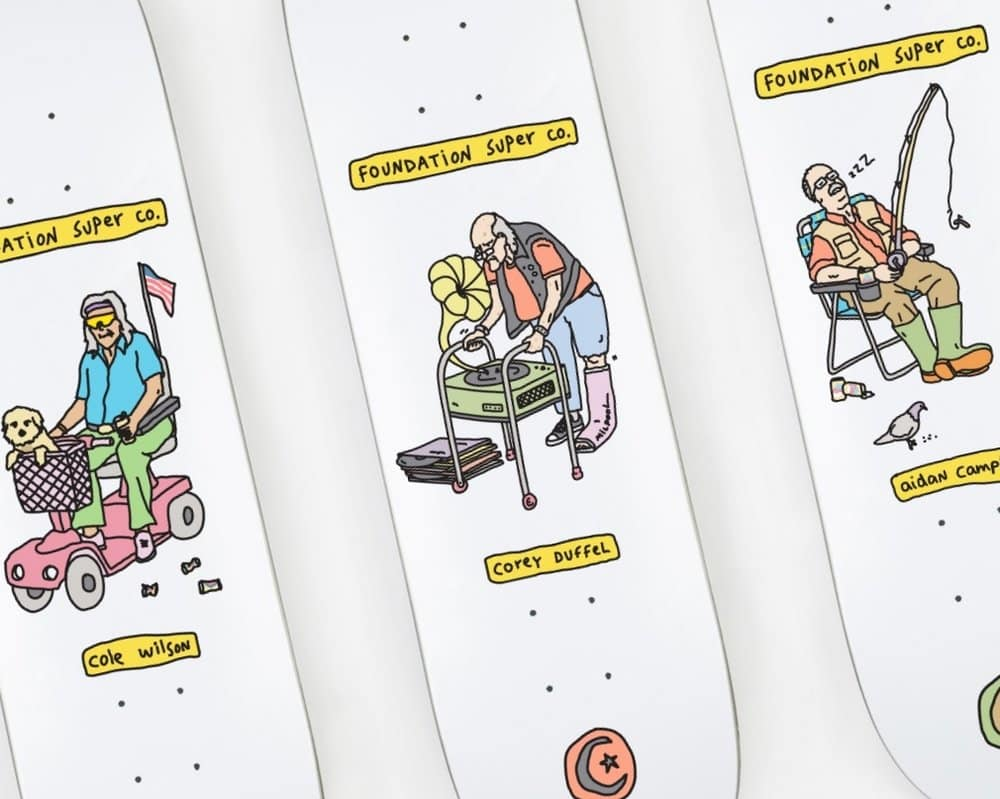 Fondation Brother Merle Skateboards 5