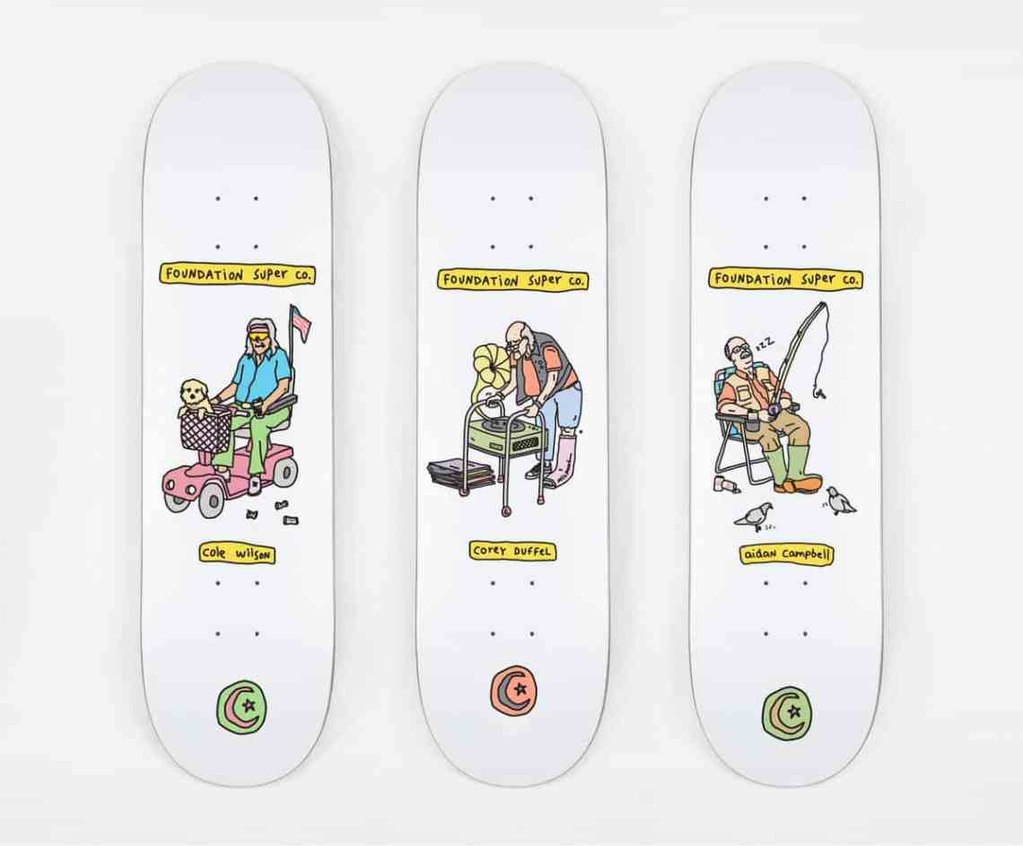 Fondation Brother Merle Skateboards 9