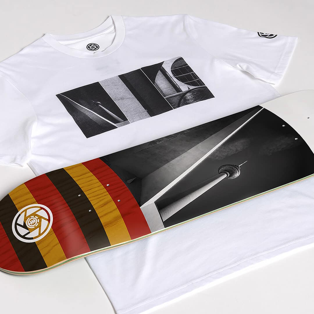 French Fred Titus Element Skateboards 3