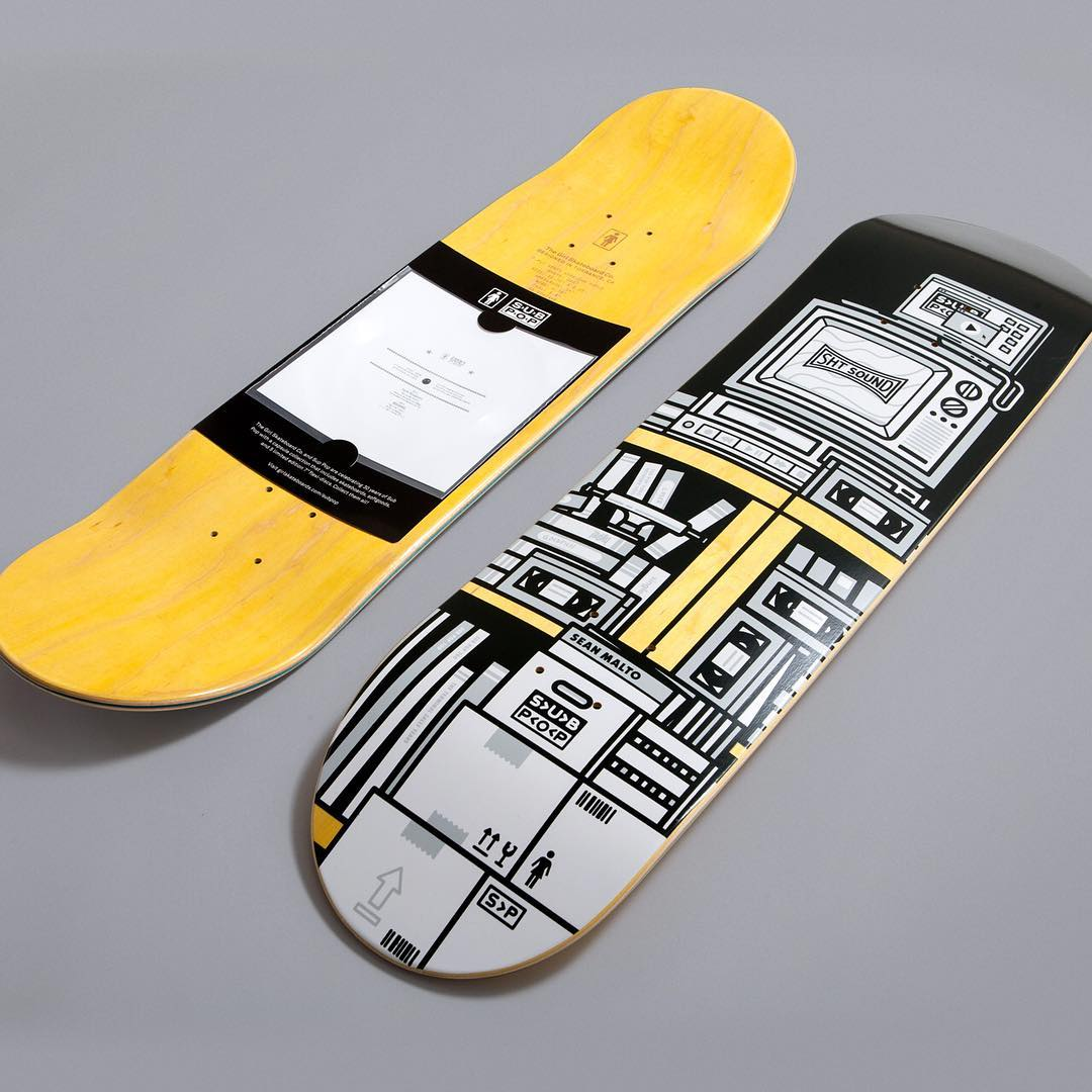 The Girl Sub Pop Series By Sasha Barr Girl Skateboards 5