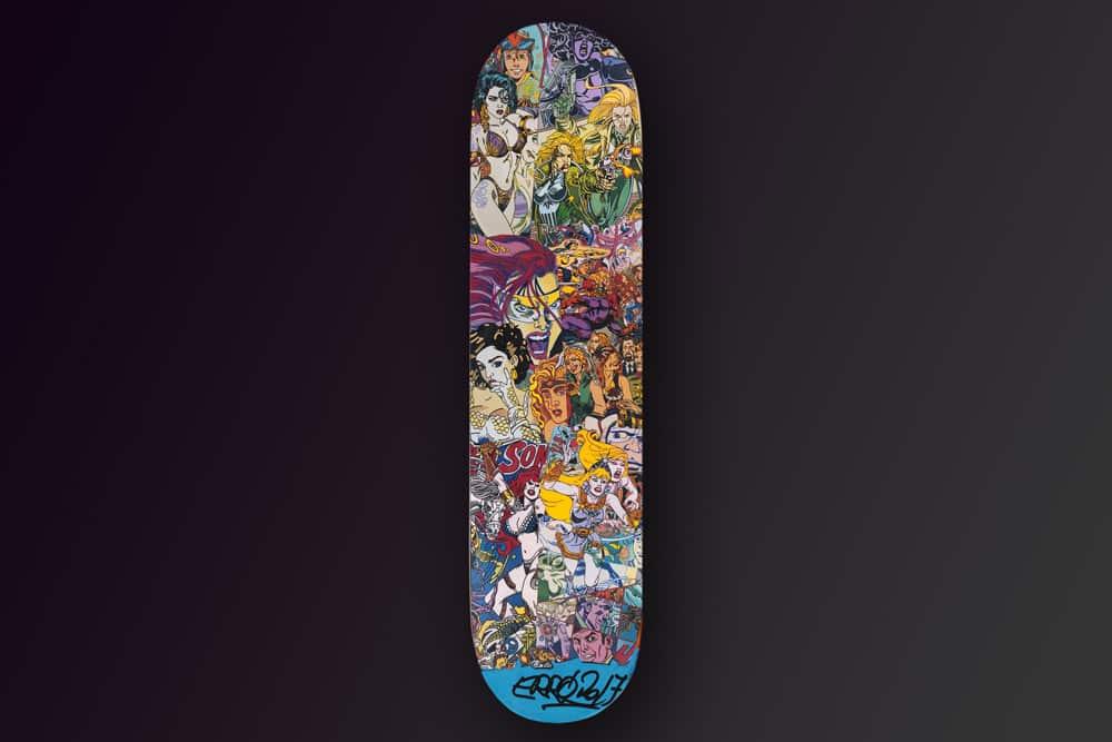 Erro Skateboard Deck 2