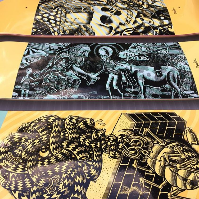 Mander Chrononaut Skateboards 1