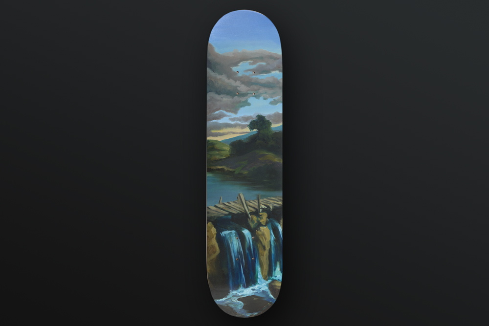 Olivier Masmonteil Skateboard Deck 2