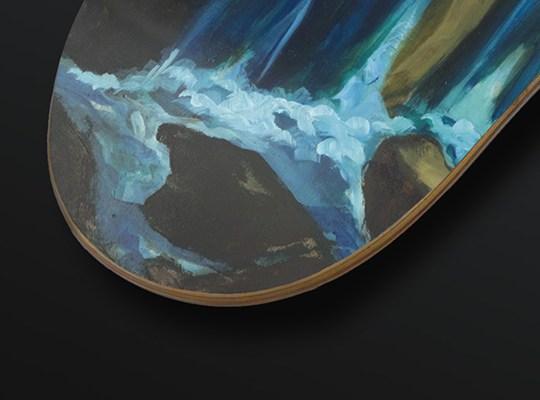Olivier Masmonteil Skateboard Deck 4