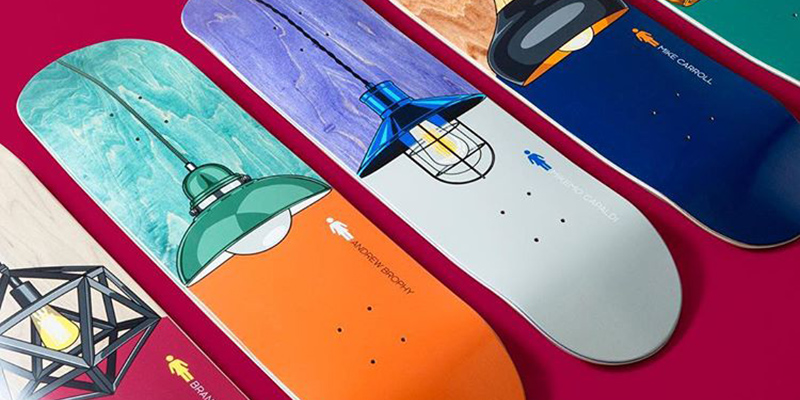 The Illuminated Series By Girl Skateboards