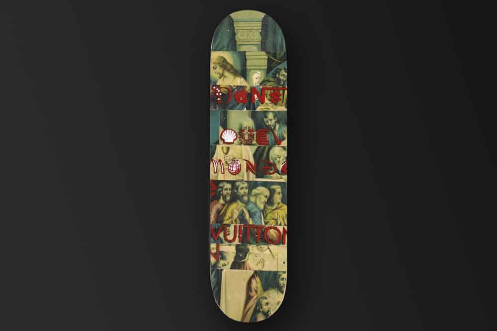 Damien Paul Gal Skateboard Deck 2