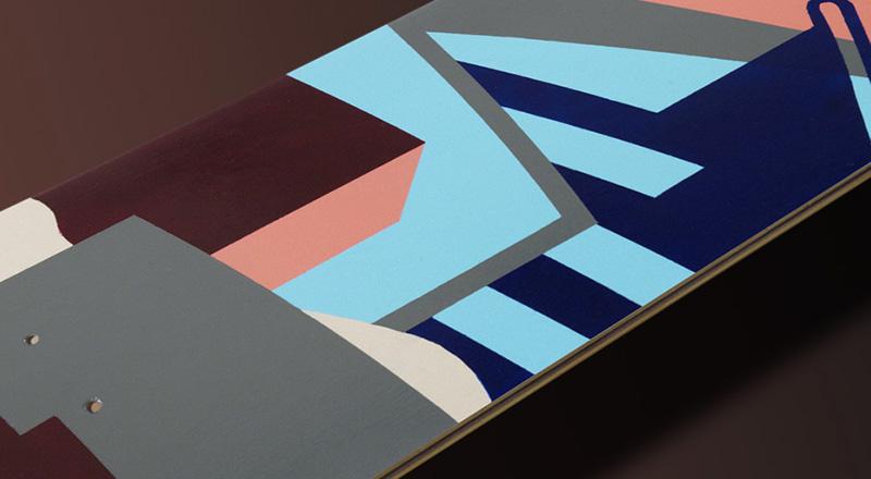 Maria Giemza Skateboard Deck