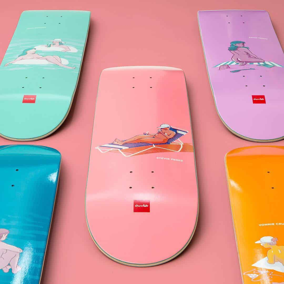 Sunbather Series Chocolate Skateboards 1