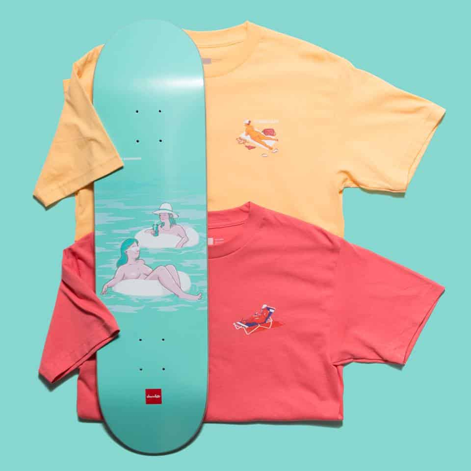 Sunbather Series Chocolate Skateboards 8