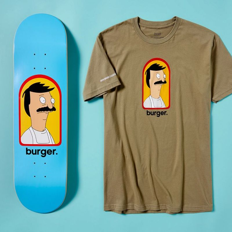 Bobs Burger Habitat Skateboards 4