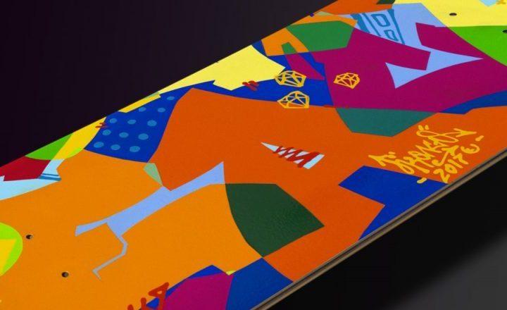 Kongo Skateboard Deck
