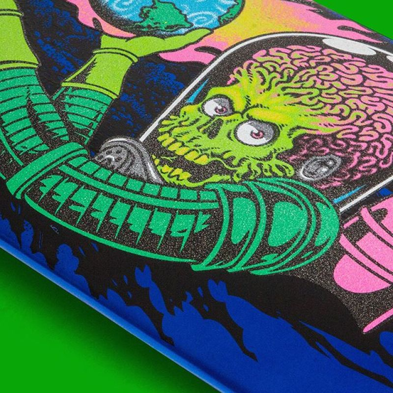 Mars Attack Santa Cruz Skateboard 12