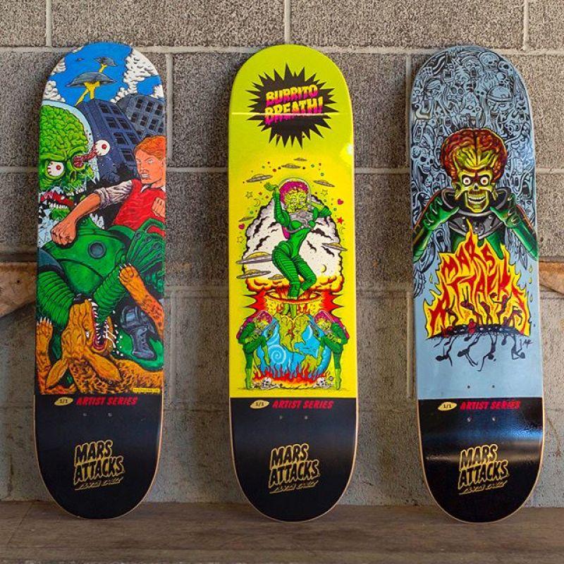 Mars Attack Santa Cruz Skateboard 13
