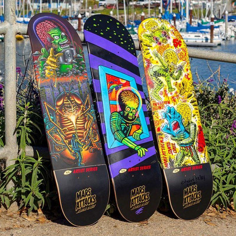 Mars Attack Santa Cruz Skateboard 14