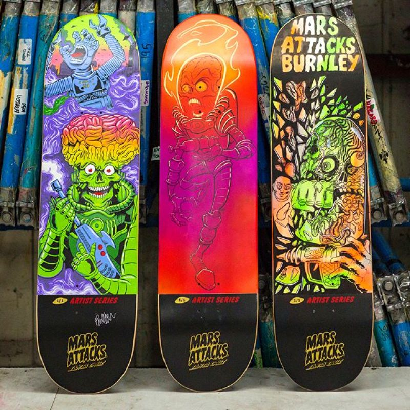Mars Attack Santa Cruz Skateboard 15