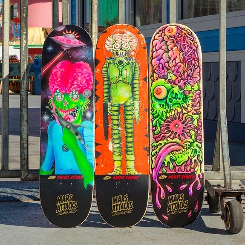 Mars Attack Santa Cruz Skateboard 17