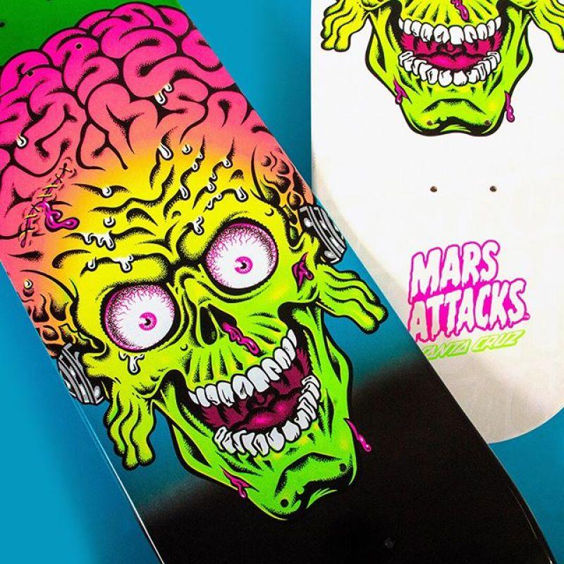 Mars Attack Santa Cruz Skateboard 19