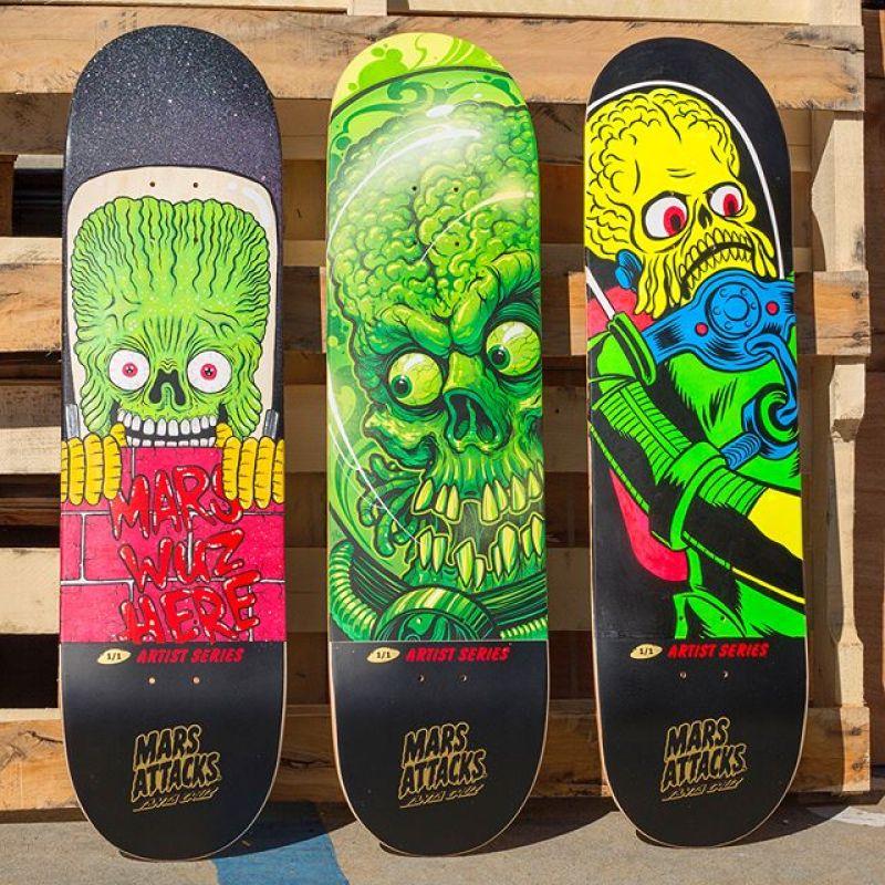 Mars Attack Santa Cruz Skateboard 2