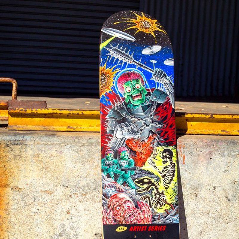 Mars Attack Santa Cruz Skateboard 22