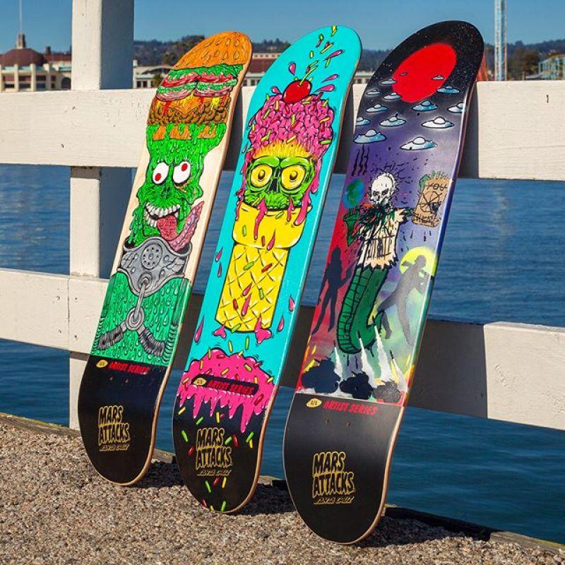 Mars Attack Santa Cruz Skateboard 27