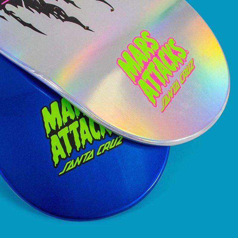 Mars Attack Santa Cruz Skateboard 29