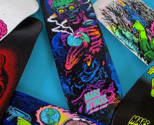 Mars Attack Santa Cruz Skateboards