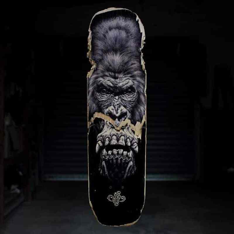 Gorilla Skateboard By Skraal 2