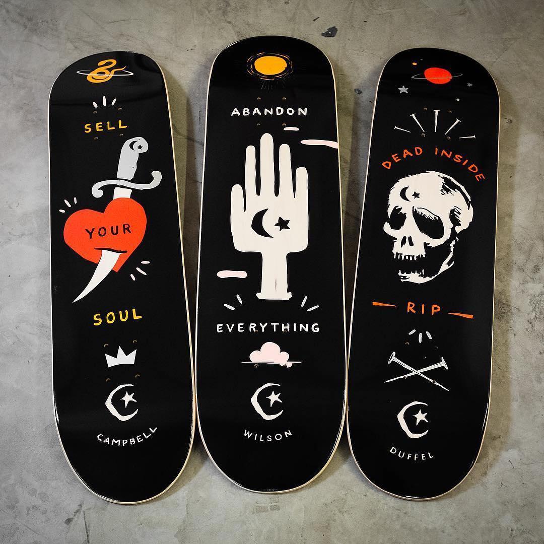 Abandon Series By Foundation Skateboards 1